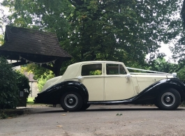 Classic Bentley wedding car hire in Crawley